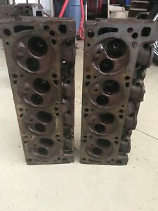 1971 1973 351 Cleveland Open Chamber Heads Oem