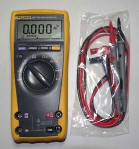 Fluke F177 True Rms Digital Multimeter Tester Meters With Backlight Warranty