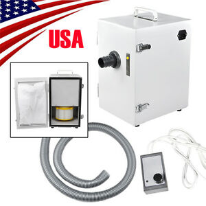 Usa Dental Lab Digital Single row Dust Collector Vacuum Cleaner 370w Laboratory