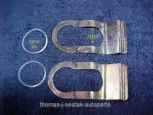 3 New Door Tailgate Lock Retainer Gaskets International Scout Ihc 50 S 70 S