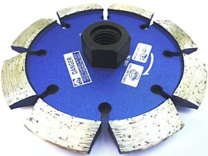 4 5 X 375 3 8 Crack Chaser With 5 8 Threaded Arbor For Angle Grinder