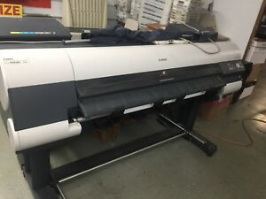 Canon Imageprograf Ipf8100 44 Large Format Printer