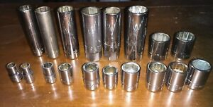 Craftsman Hand Tools Ee Series Sockets Sae Metric All Usa Chrome Free Shipping