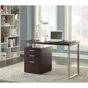 Strick Bolton Joffe Brown Metal Computer Desk