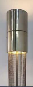 Cool Pierre Cardin Mid Century Modern Brass And Beaded 3 Light Laurel Floor Lamp