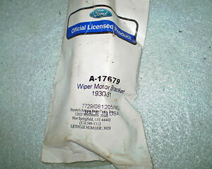 1930 1931 Ford Model A A 400 Windshield Wiper Motor Bracket Snyder S New Nors