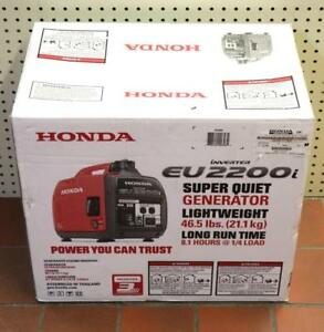 New honda Eu2200i Portable 2200 watt Super Quiet Lightweight Inverter Generator