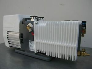Alcatel adixen 2021i Vacuum Pump 14 Cfm Tested To 8 Microns Lab industrial