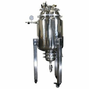Best Value Vacs 50l Stainless Steel Jacketed Reactor