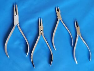 Surgical Orthodontic Pliers Dental Pliers Wire Bending Ortho Tooth Braces Pliers