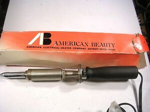 American Beautymodel 3158 225w Soldering Iron New With Tip