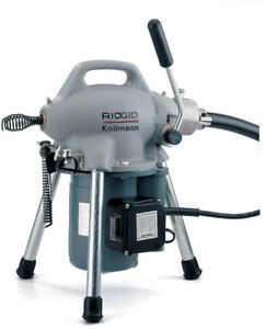Ridgid 115 volt K 50 Sectional Drain Cleaner Machine For 1 1 4 In To 4 In