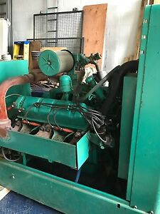 Onan Generator 75 Kw Set Low Hours Lp ng International Uv 549 Cummins