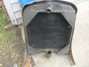 Allis Chalmers Wd Tractor Radiator
