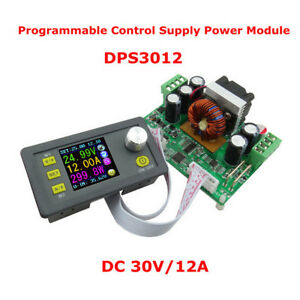 Step down Power Supply Module Buck Voltage Converter Lcd Voltmeter 32v 12a