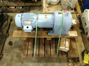 United Conveyor Corporation Gear Reducer And Reliance Electric Motor