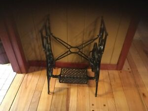Vintage Cast Iron Minnesota A Treadle Sewing Machine Base Table Legs Stand Plus