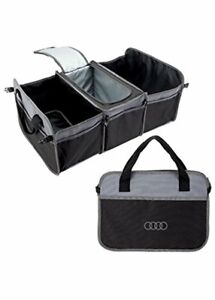 New Genuine Audi Trunk Organizer With Cooler Oe Cargo Acmd101