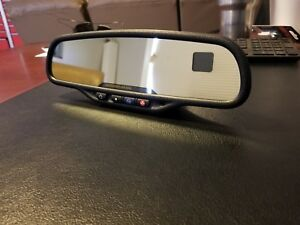 04 Cadillac Escalade Rear View Mirror gm autodim compass thermometer on Star