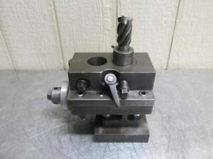 Edward Andrews Tools Turret Lathe Adjustable Cross Slide Boring Bar Tool Holder