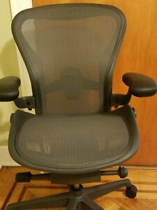 Herman Miller Aeron 2018 Remastered Chair Size B Fully Adjustable