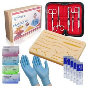 Suture Practice Kit Complete Medical Suturing Training Set For Students