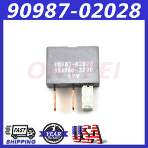 90987 02028 Genuine Oem Denso A C Clutch Relay 4 Pin 12v For Toyota Lexus Cars
