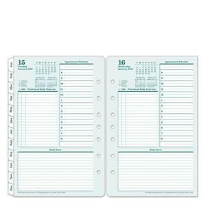 Franklin Covey Original One Page day Ring bound Planner Refill 68616