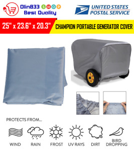 Generator Storage Cover For Champion Portable Weather resistant Dustproof 25