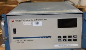 Thermo Environmental Instruments 42c No no2 nox Analyzer High Level