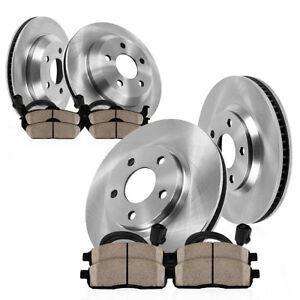 Front Rear Brake Rotors Ceramic Pads For Mercedes Benz Gl350 Gl450