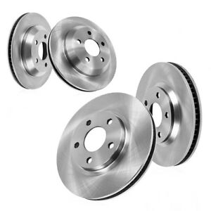 Front And Rear Premium Oe Brake Rotors For 2015 Ford Mustang Gt Brembo Pkg