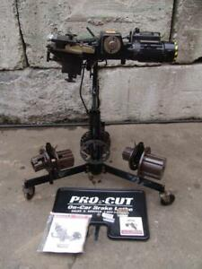 Pro Cut On Car Brake Lathe Procut