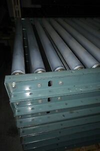Hytrol Gravity Roller Conveyor Model 19sr 33 3