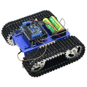 T101 Wifi Metal Robot Tank Car Chassis Tracked Kit Motor For Arduino Diy