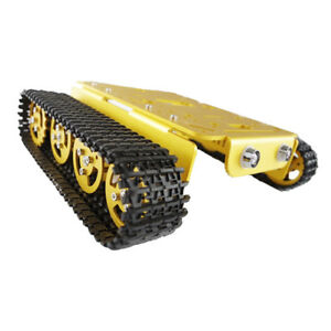 T200 Smart Metal Robot Tank Car Chassis Tracked Kits Motor For Arduino Diy