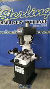 8 X 28 Brand New Birmingham rong Fu Milling And Drilling Machine Rf31c Smrf31