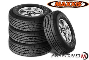 4 New Maxxis Bravo Ht 770 255 70r17 112s Highway All Season Performance Tires
