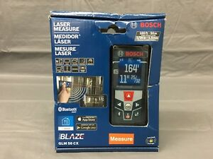New Bosch Glm 50 Cx 165 Ft 50 M Bluetooth Smart Leaser Measure
