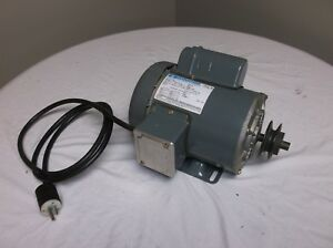 Marathon Electric 1hp Table Saw Motor 115 230v Ccw cw 3450rpm nice