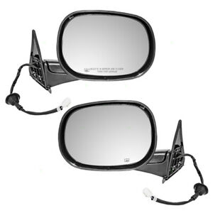 Pair Side View Mirrors For 98 02 Dodge Ram 1500 2500 3500 Truck Heated Power Set