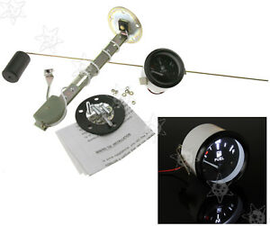2 Inch 52mm Car Suv Fuel Level Gauge Meter With Fuel Sensor E 1 2 F Pointer