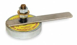 Mag mate Magnetic Welding Ground 3 1 2 In D 250 A Wg250 1 Each