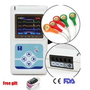 3 Channels Ecg Holter Ecg ekg Machine Holter Monitor System Holter Recorder