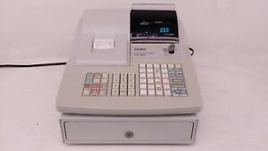 Casio Pcr 365a Programmable Electronic Cash Register User s Manual