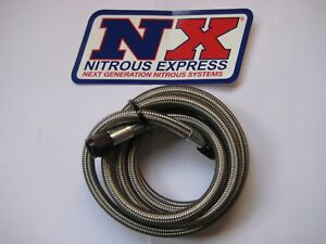 66 Off New Nx nitrous Express 8 Ft 6an Race Nitrous Line hose 14096 Nos holley