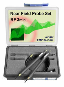 Langer Emv Rf3 Mini Set Near field Probes 30 Mhz Up To 3 Ghz