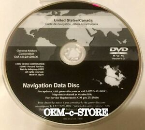 2007 To 2011 Chevrolet Avalanche Tahoe Hybrid Navigation Dvd Map 8 0c Update