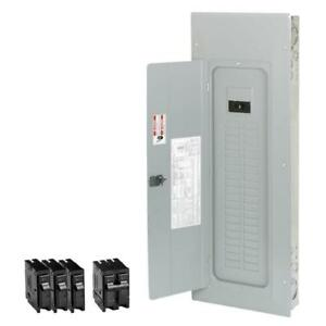 Eaton 200 Amp 40 space 50 circuit Typ br Main Breaker Load Center Value Pack New