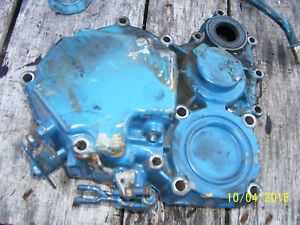 Vintage Ford 1210 3 Cyl Diesel Tractor engine Front Cover Assy